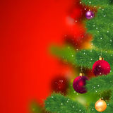 Grunge christmas background. EPS 8 Royalty Free Stock Images