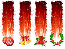 Grunge Christmas banner Royalty Free Stock Photos