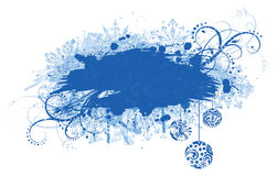 Grunge christmas banner. Stock Photography