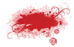 Grunge christmas banner. Royalty Free Stock Images