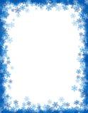 Grunge christmas border / background Stock Image