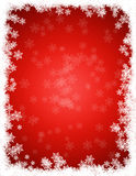 Grunge christmas border / background Royalty Free Stock Images
