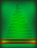 Grunge christmas card background Stock Image