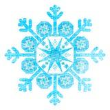 Grunge Christmas Snowflake Royalty Free Stock Photography