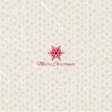 Grunge christmas snowflakes background Stock Image