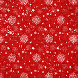 Grunge Christmas snowflakes background Royalty Free Stock Photos