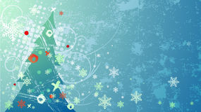 Grunge christmas vector. Grunge christmas  for your background Stock Photo
