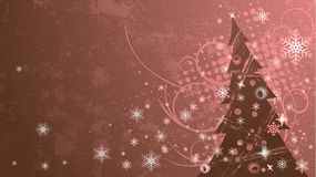 Grunge christmas vector Stock Photos