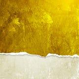 Grunge ściana z łamaną krawędzią Zdjęcie Stock