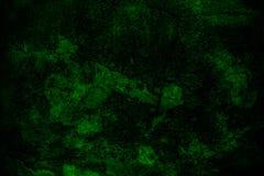Grunge ciemnozielony ścienny tło Obraz Stock