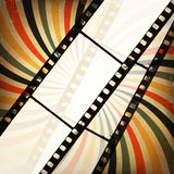 Grunge cinema background. Stock Image