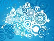 Grunge circle background Royalty Free Stock Photography