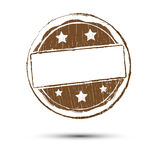 Grunge circle stamp background textures Royalty Free Stock Image