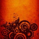 Grunge circles Stock Image