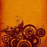 Grunge circles Royalty Free Stock Photography