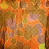 Grunge circles. On grunge background Stock Photo