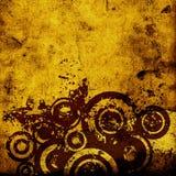 Grunge circles Royalty Free Stock Images