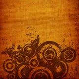 Grunge circles Stock Photo