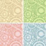 Grunge circles. Illustration; design elements for backgrounds Stock Images