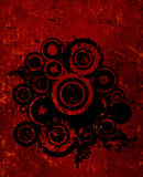 Grunge circles Stock Photos