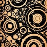 Grunge circles background Stock Photography
