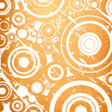 Grunge circles background Royalty Free Stock Image