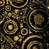 Grunge circles background Royalty Free Stock Images