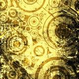 Grunge circles background Royalty Free Stock Photo