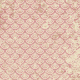 Grunge circles. Grunge lattice on a beige background in seamless pattern Stock Photos