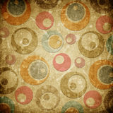 Grunge circles paper background Stock Photo