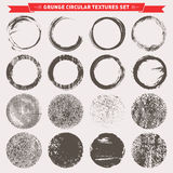 Grunge Circular Texture Backgrounds Vector Royalty Free Stock Photography