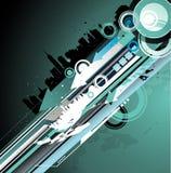 Grunge city vector illustration Stock Photos