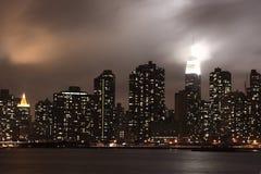 Grunge cityscape Stock Image
