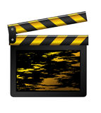 Grunge clapboard Stock Images