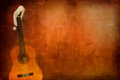 Grunge Classic Guitar Stock Photos