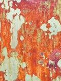 grunge click предпосылки большое больше моего портфолио ржавого Красная и желтая металлическая текстура стоковая фотография