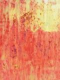 grunge click предпосылки большое больше моего портфолио ржавого Красная и желтая металлическая текстура стоковые фотографии rf