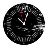 Grunge clock Royalty Free Stock Photos