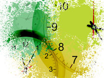 Grunge clocks Stock Photography