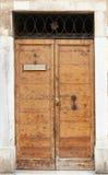 Grunge closed door Stock Image