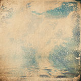 Grunge paper texture.  abstract nature background. Grunge cloud background, vintage paper texture Royalty Free Stock Image