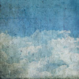 Grunge clouds background Stock Photography