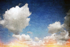 Grunge clouds background Royalty Free Stock Images