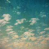 Grunge clouds vintage texture. Royalty Free Stock Photo