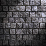 Grunge cobblestone wall Royalty Free Stock Photos