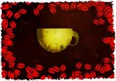 Grunge coffee Stock Photo