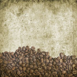 Grunge coffee background Royalty Free Stock Photos