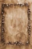 Grunge Coffee Frame Stock Photo