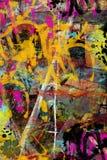 Grunge collage stock illustration