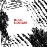 Grunge collage. Vector grunge abstract background. Pen texture. Vector design elements. Dark smear background Stock Illustration